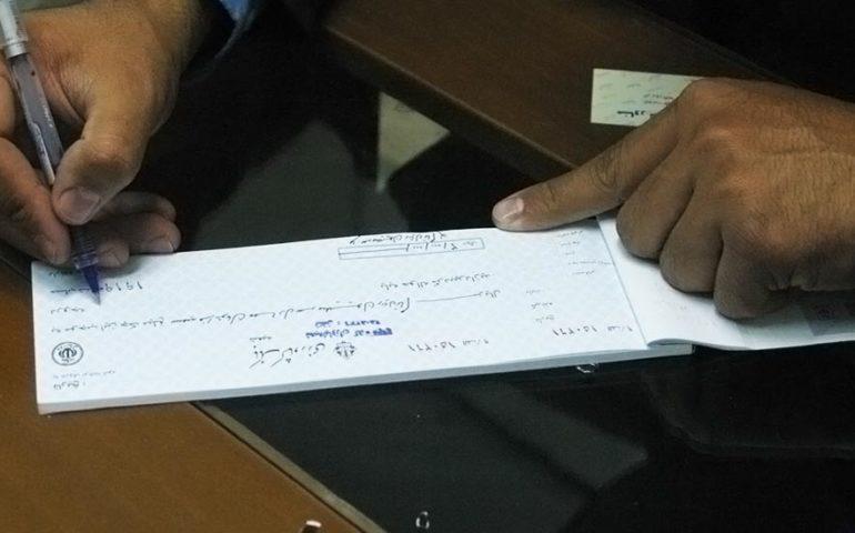 جعل چک سفید امضا